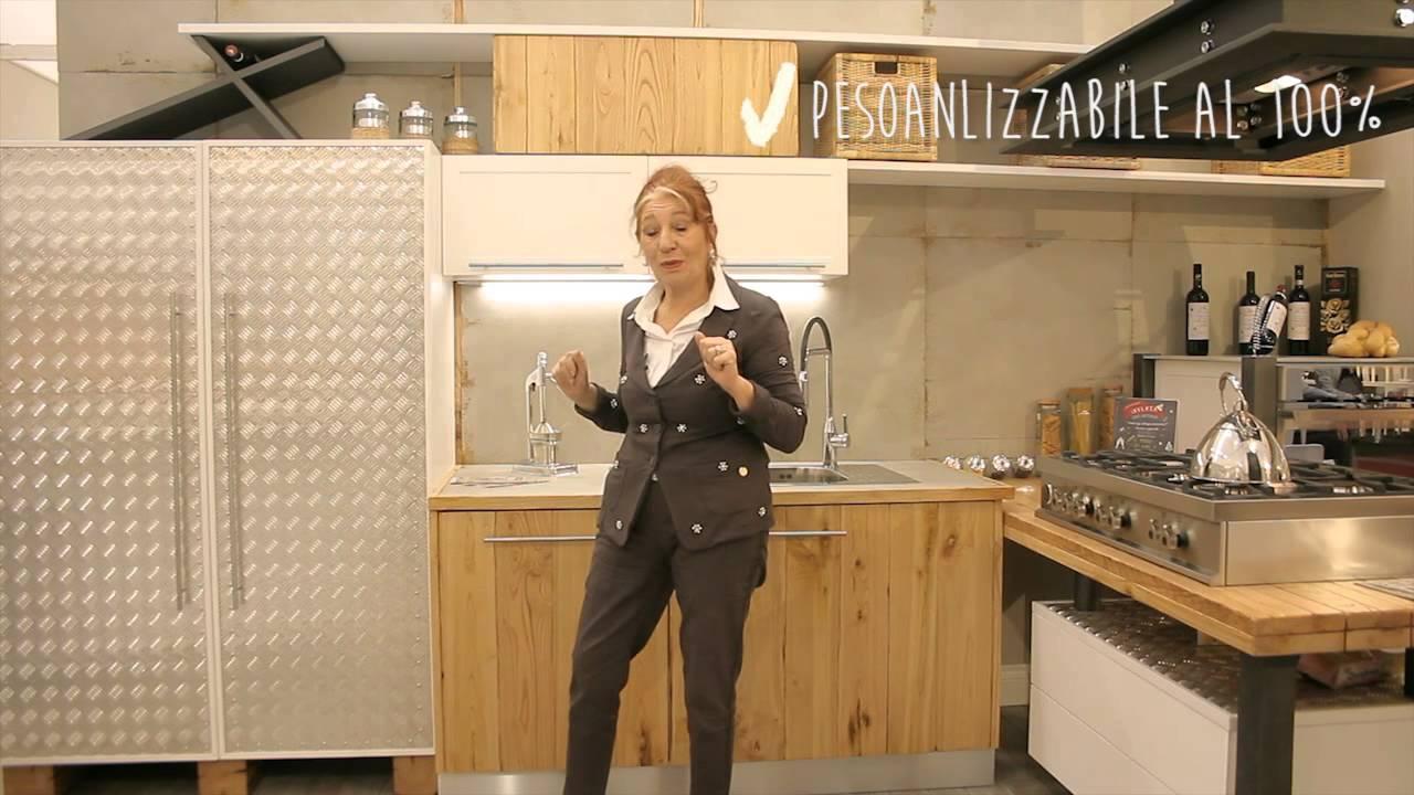 Cucine Shabby Chic Roma.Cucina In Esclusiva Moa Casa 2015 Youtube