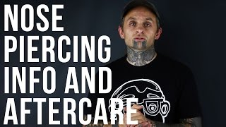 Nose Piercing Information & Aftercare | UrbanBodyJewelry.com