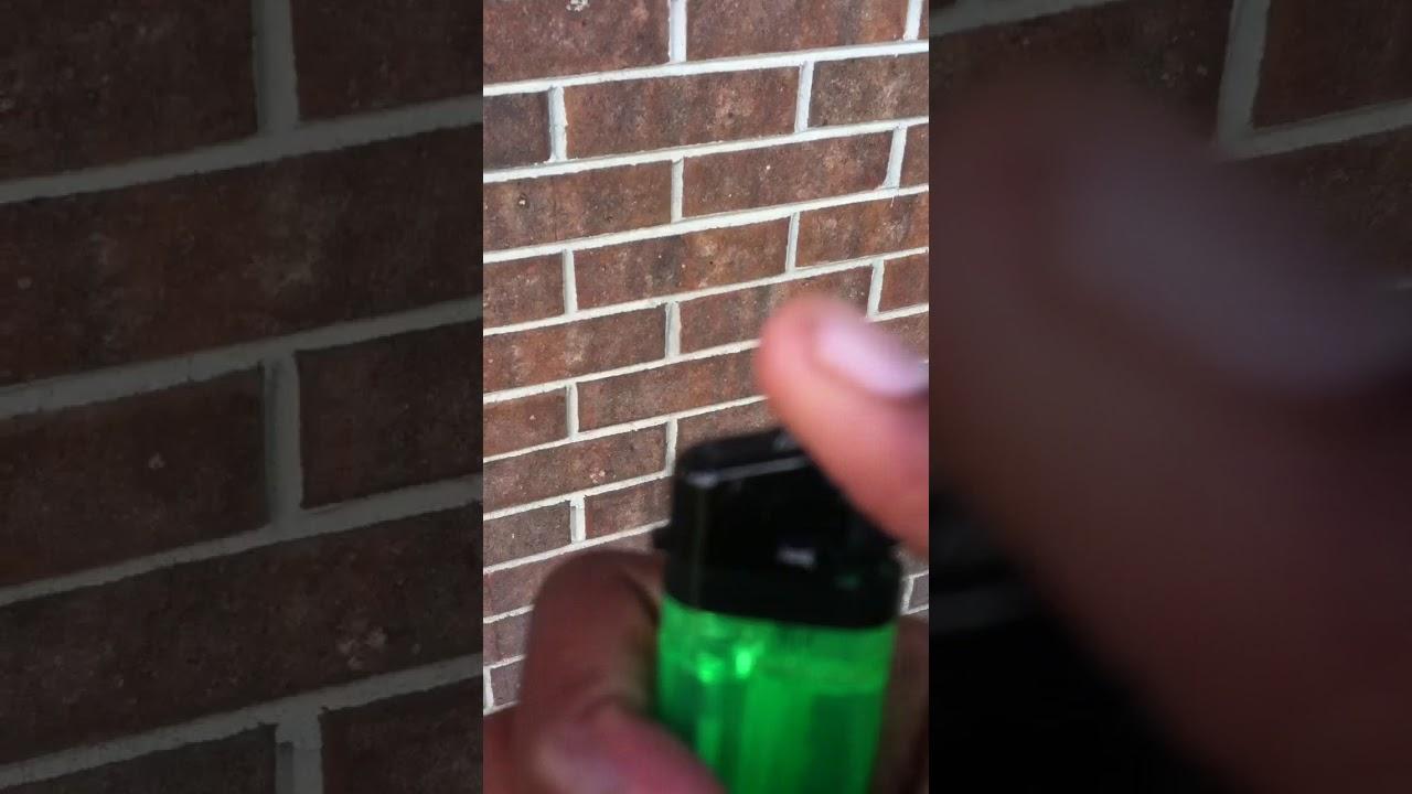 crackhead finger lighter