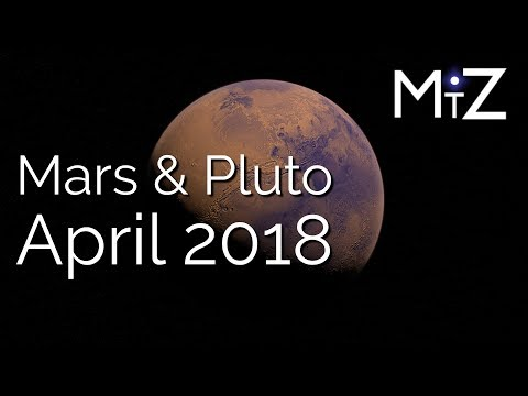 Mars Conjunct Pluto April 25th, 2018 - True Sidereal Astrology