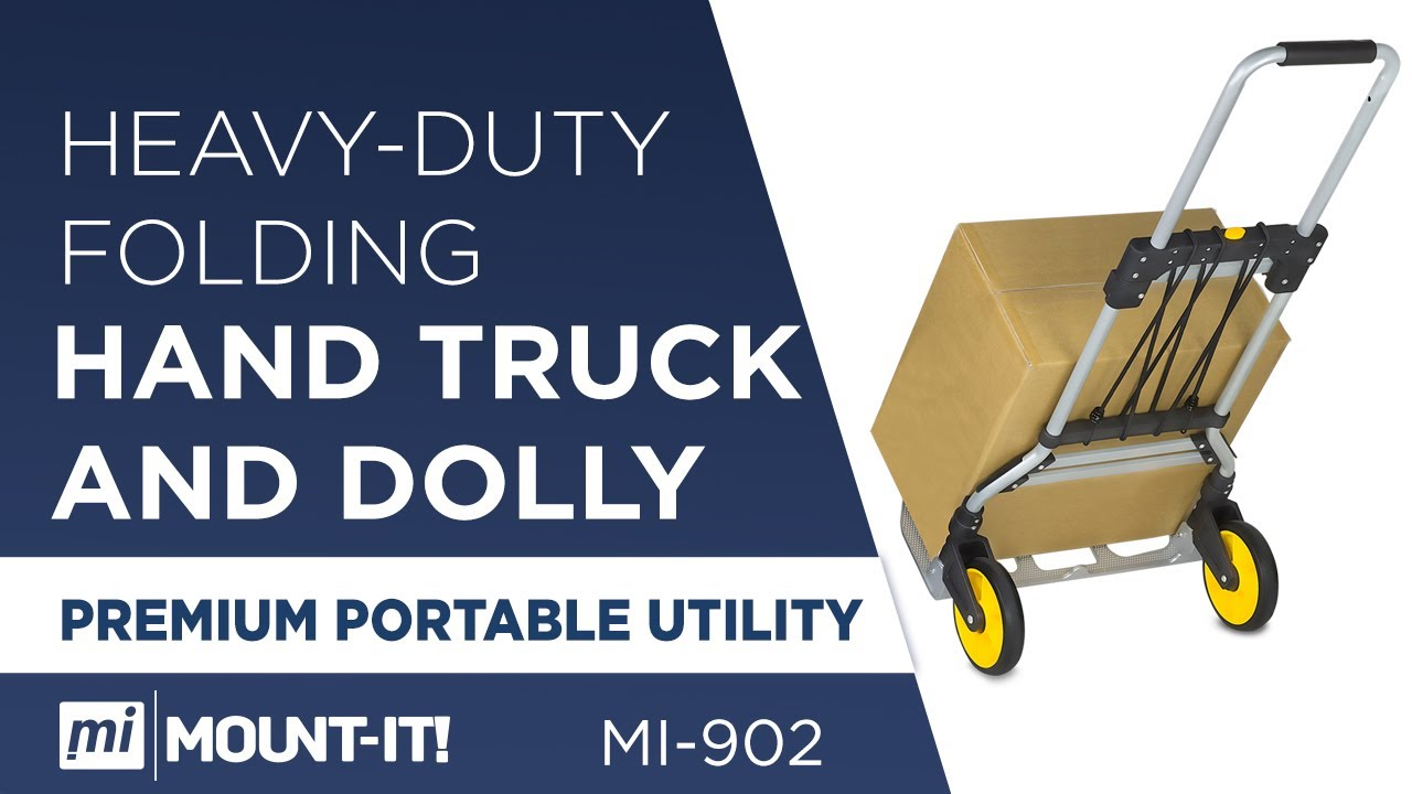bd2c9befee32 Folding Hand Truck/Luggage Cart   MI-902 – Mount-It!