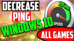 Ping Fix Windows 10 (Gaming) - Lower Ping & Fix Lag 2018