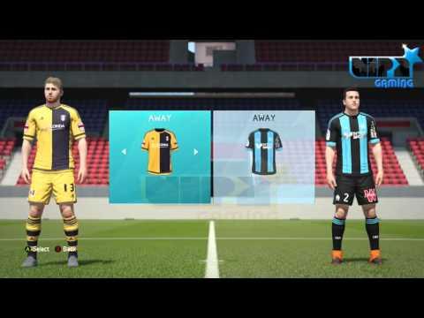 FIFA 16 Football League Championship Kits