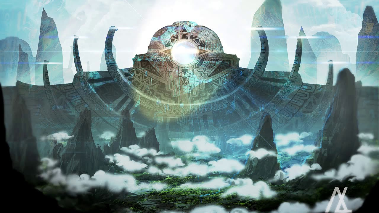 Healing Temple - Ambient, Chillout, Psybient, Psychill Mix