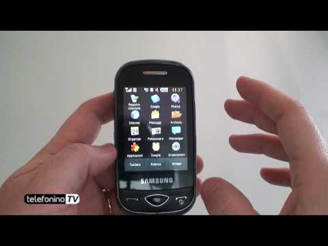 Samsung b3410 writer touch videoreview da Telefonino.net