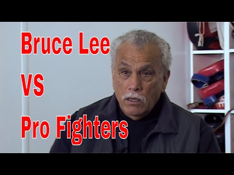 Bruce Lee VS Pro Fighters: 'He could beat us all, We had no chance'