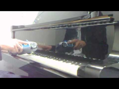 Playing Mrs Officer with a cop car Lil Wayne piano cover by the Napkin Holder