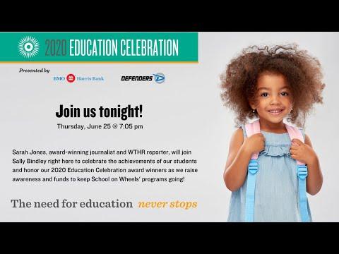 School on Wheels' 2020 Education Celebration