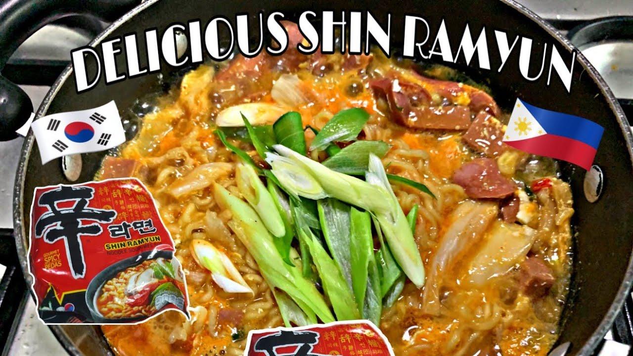 delicious way to cook shin ramyun  kimchi ramen  easy to
