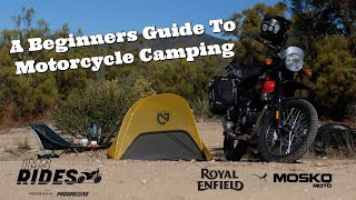 A Beginners Guide T๐ Motorcycle Camping | IMS Rides