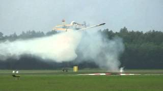 PZL Dromader is firefighting at Swidwin Airbase 2012