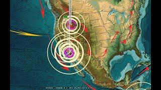 4/03/2020 -- Southern California M4.9 Earthquake + swarm at Anza Gap slow slip location