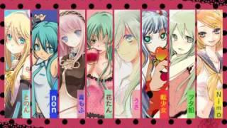 Repeat youtube video 合唱 『ロミオとシンデレラ』Girls Version【初音ミク曲】