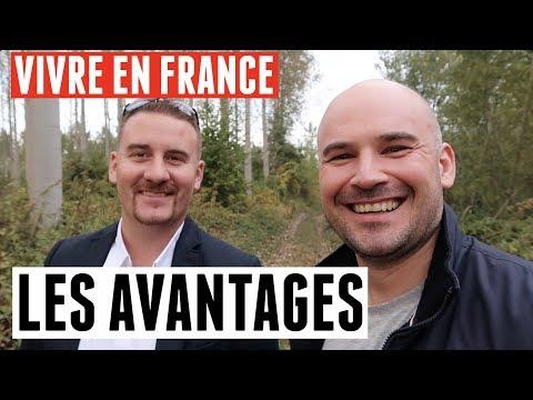 LES AVANTAGES DE LA VIE EN FRANCE