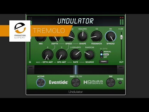 Undulator From Eventide   Who Knew Tremolo Could Sound So Complex?