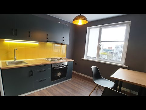 Обзор Ремонта Квартиры 33м2. Кухня за 240$. Сборка Мебели Своими Руками.