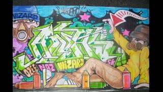 How to draw graffiti name Anas - Como Dibujar el nombre Anas en graffiti