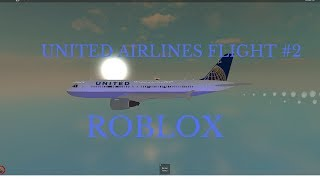 #2 de vôos de ROBLOX-United Airlines