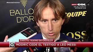 Luka Modric critica a Cristiano Ronaldo por no ir a la gala del Balón de Oro