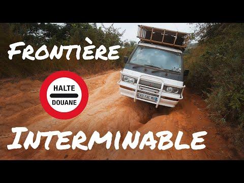 #52 ⛔ COMMENT PASSER UNE FRONTIÈRE EN AFRIQUE ? Images insolites !!