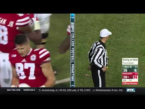 Michigan State at Nebraska - Football Highlights