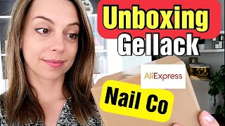UNBOXING GELLACK NAIL CO   gellak uitpakken   Aliexpress shoplog 2021