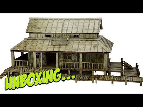 MDF Asian Trading Post | 4Ground | Unboxing