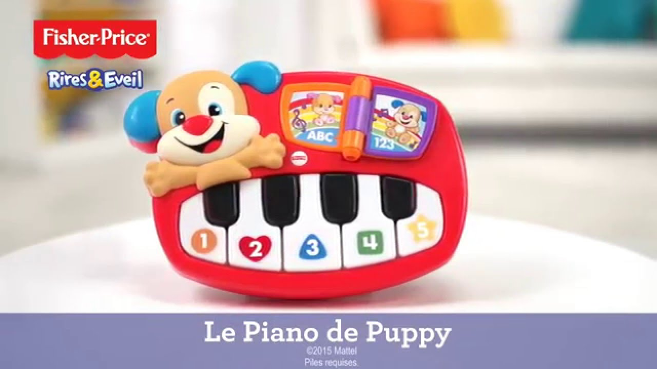 Fisher Price Le Piano De Puppy Demo De Produit Dld20