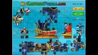 Вспыш и Чудо Машинки Игра Пазлы. Развивающие мультики для детей. Мультики про машинки