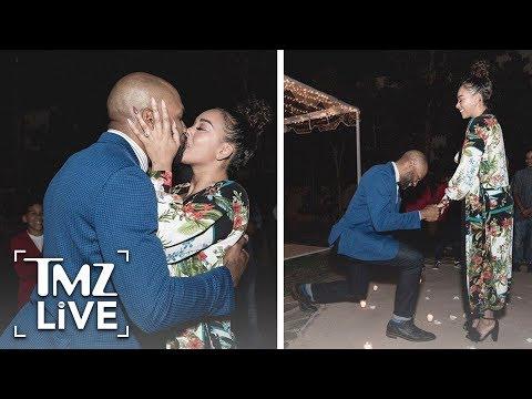 Derek Fisher & Gloria Govan Are Engaged! | TMZ Live