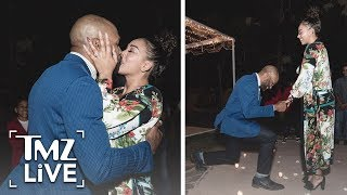 Derek Fisher & Gloria Govan Are Engaged! | TMZ Live