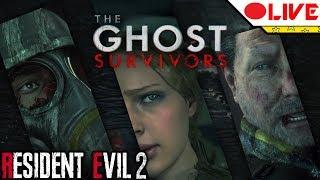 🔴 RESIDENT EVIL 2 - GHOST SURVIVORS (Completando os novos modos)