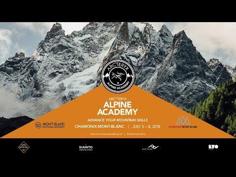 2018 Arc'teryx Alpine Academy Recap