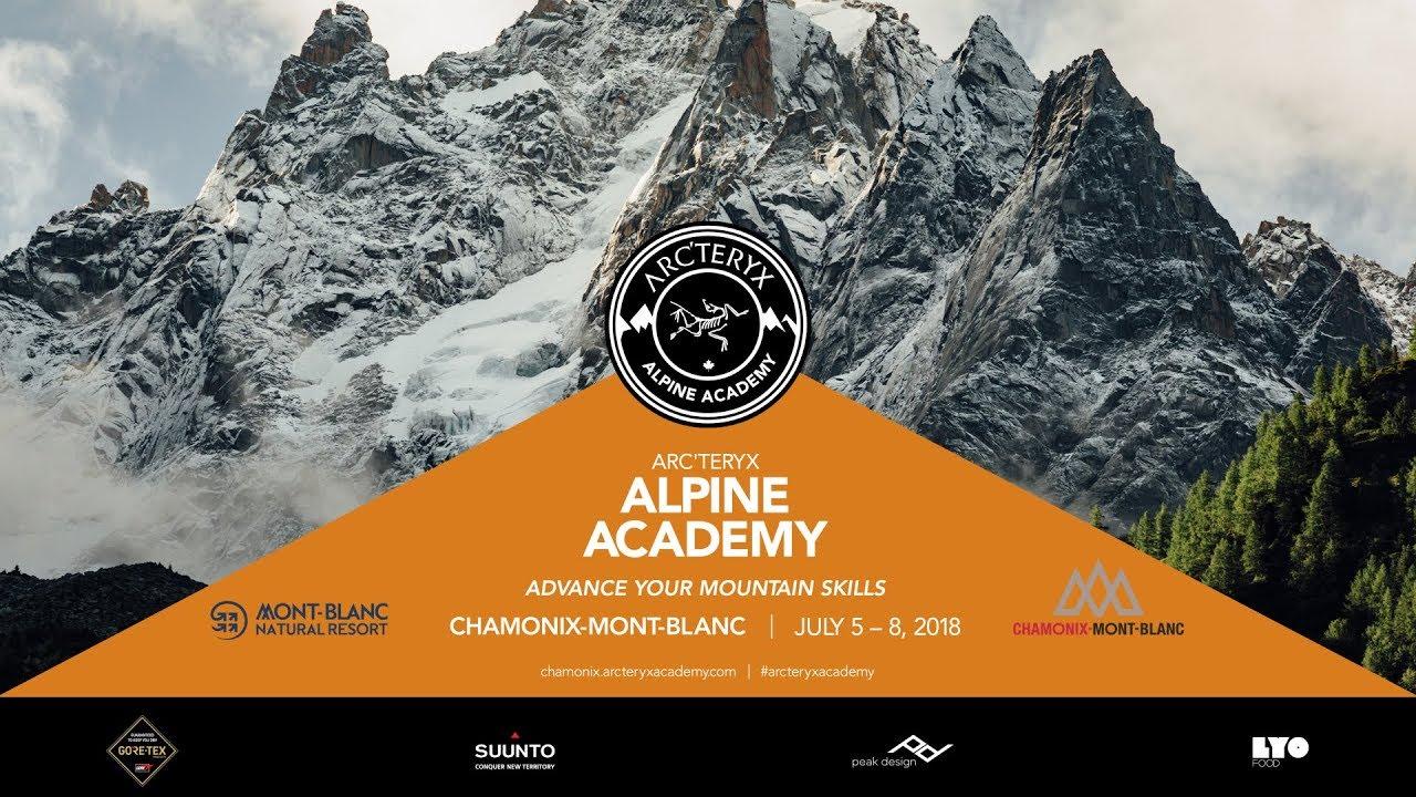 What Happens In Chamonix    The 2018 Arc'teryx Alpine