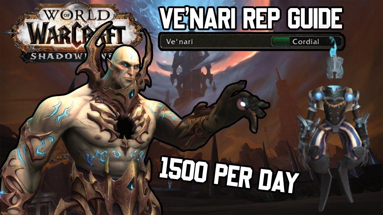 Ve Nari Rep Guide How To Get 1500 Rep Minimum Per Day Youtube