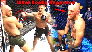 SHOCKING!!! What Really Happened (Dustin Poirier vs Conor McGregor 2)