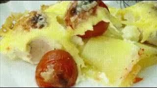 Картофельная запеканка.
