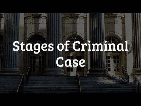 Stages Of Criminal Case | An Hour With LawSikho