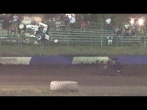 BCRA & USAC Midgets MAIN 7-15-17 Petaluma Speedway