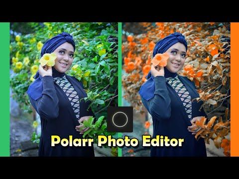 Cara Edit Foto Pakai Hp | Gray And Orange| Polarr Photo Editor