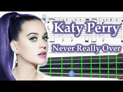 Never Really Over Sheet Music Violin - Katy Perry Tutorial violin Lesson thumbnail