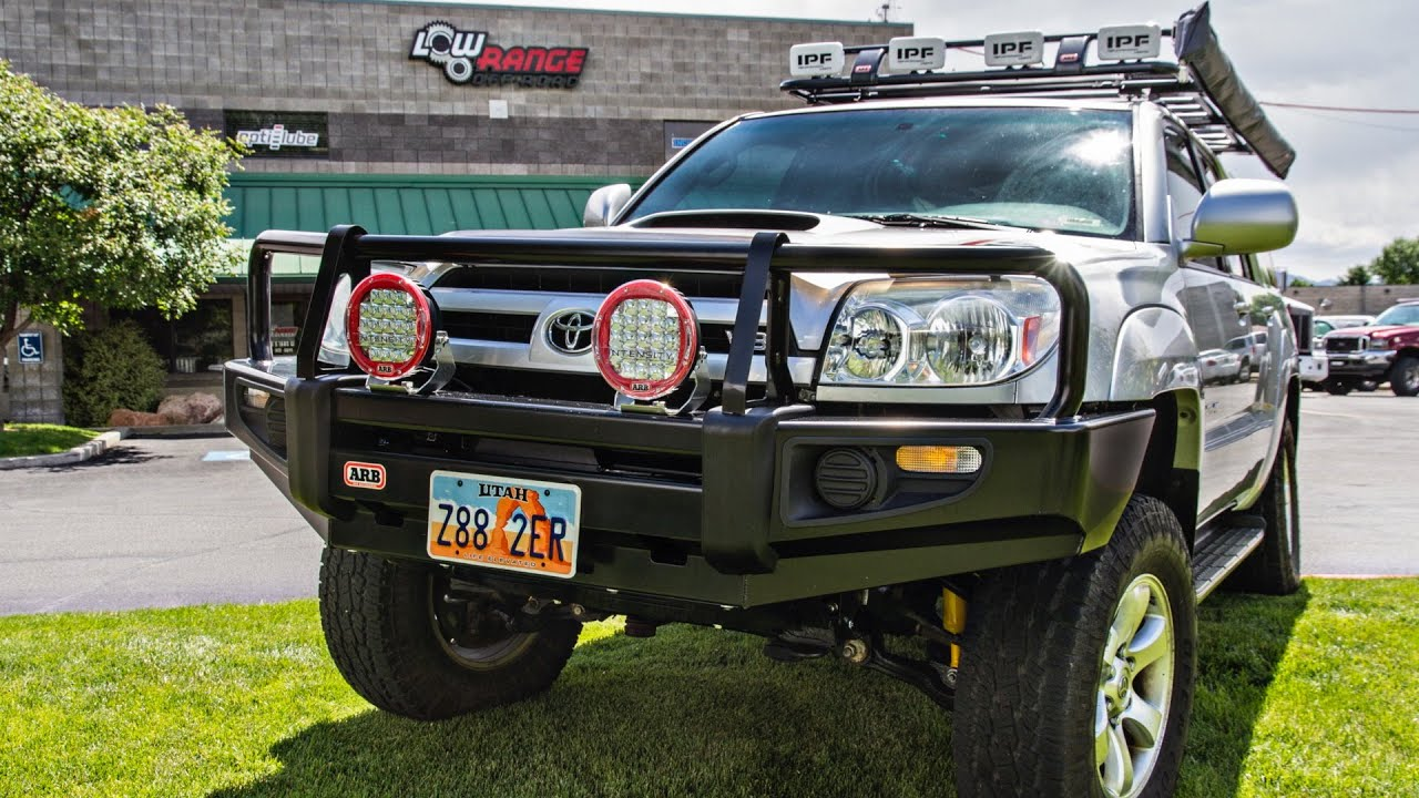 arb 4runner gen 4th toyota bullbar build bull bar winch 2004 v8 thread limited armor installation forum ih8mud builds