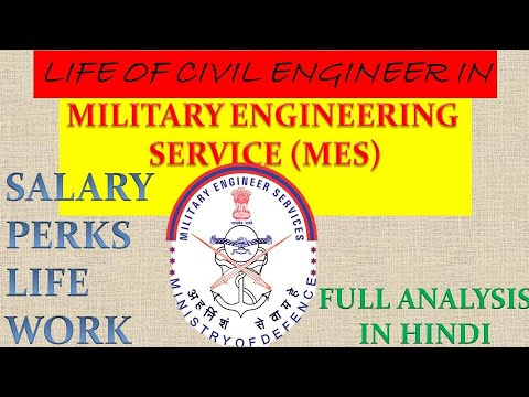 MILITARY ENGINEERING SERVICES (MES) || IDSE || MES Qu0026SC
