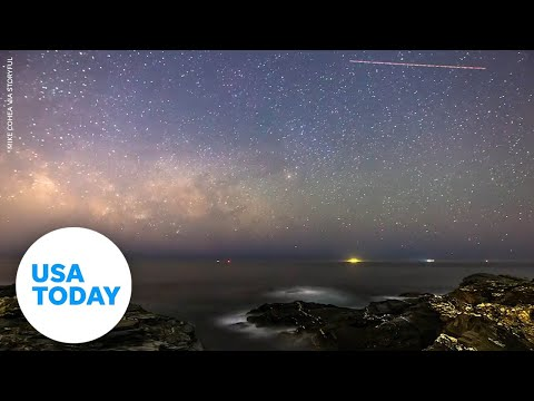 Watch the Milky Way rise over the Atlantic Ocean | USA TODAY