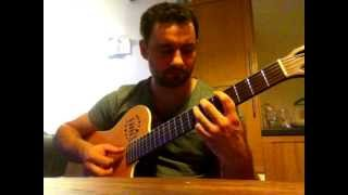 """Pastime paradise"" Stevie Wonder guitar cover by Emile Melenchon"