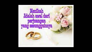Kata kata indah tentang arti pernikahan