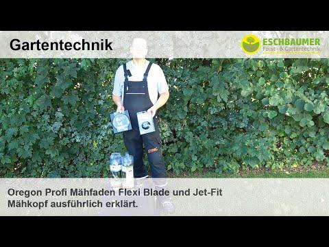 Fadenkopf Jet-Fit /& Mähfäden Oregon Techni Blade Set Alu 4