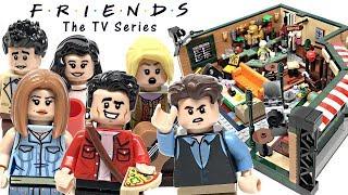 lEGO Ideas Friends Central Perk review! 2019 set 21319!