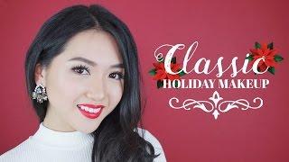 Trang Điểm Giáng Sinh - CLASSIC HOLIDAY MAKEUP | Chloe Nguyen