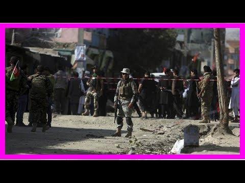 United States condemns Kabul terrorist attack